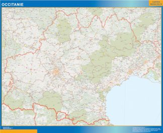 Biggest Region of OccitanIe map