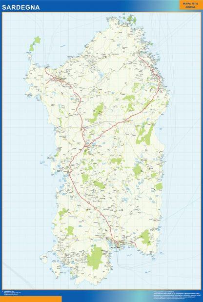 Biggest Region of Sardegna in Italy