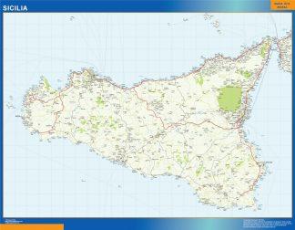 Biggest Region of Sicilia in Italy