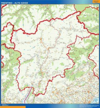 Biggest Region of Trentino Alto Adige in Italy