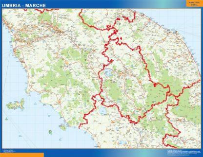 Biggest Region of Umbria Marche in Italy