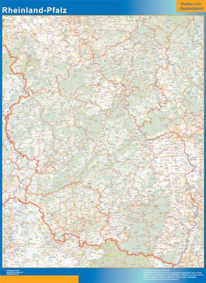 Biggest Rheinland-Pfalz map