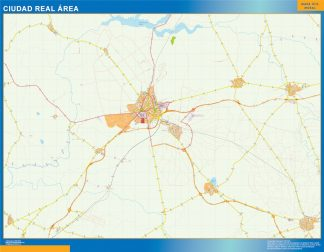 Biggest Road map Ciudad Real Spain