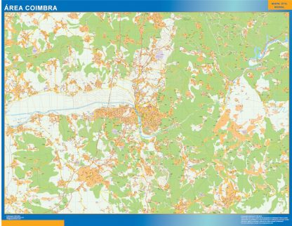 Biggest Road map Coimbra Portugal