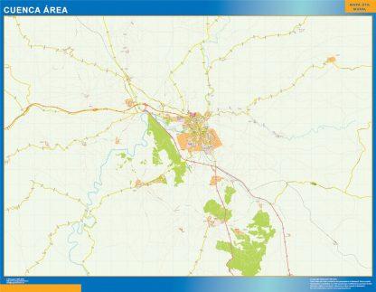 Biggest Road map Cuenca Spain