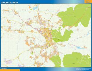 Biggest Road map Granada Spain