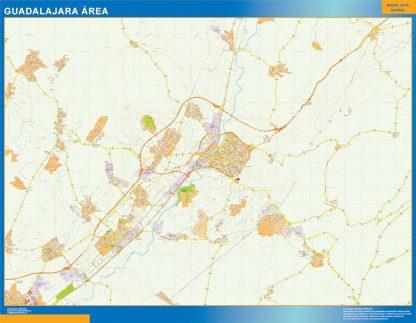 Biggest Road map Guadalajara Spain
