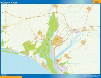 Biggest Road map Huelva Spain