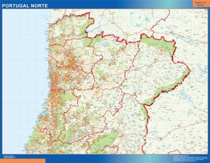 Biggest Road map Portugal North