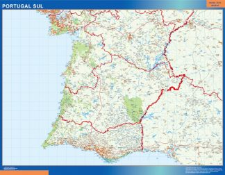 Biggest Road map Portugal South