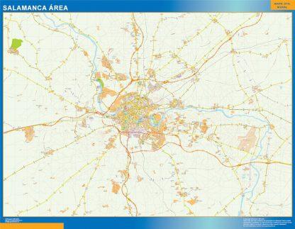 Biggest Road map Salamanca Spain