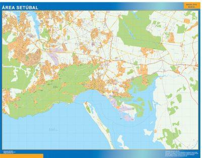 Biggest Road map Setubal Portugal