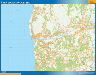 Biggest Road map Viana Do Castelo Portugal