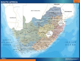 Biggest South Africa map