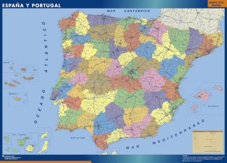 Biggest Spain map
