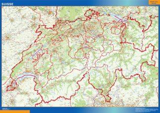 Biggest Switzerland map