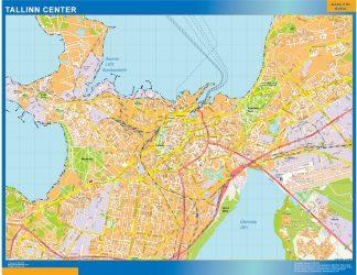Biggest Tallinn downtown map