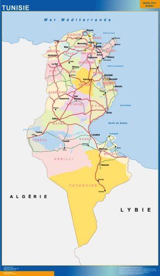 Biggest Tunis map