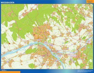 Biggest Wiesbaden map in Germany